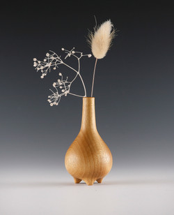 Turned Weedpot vase