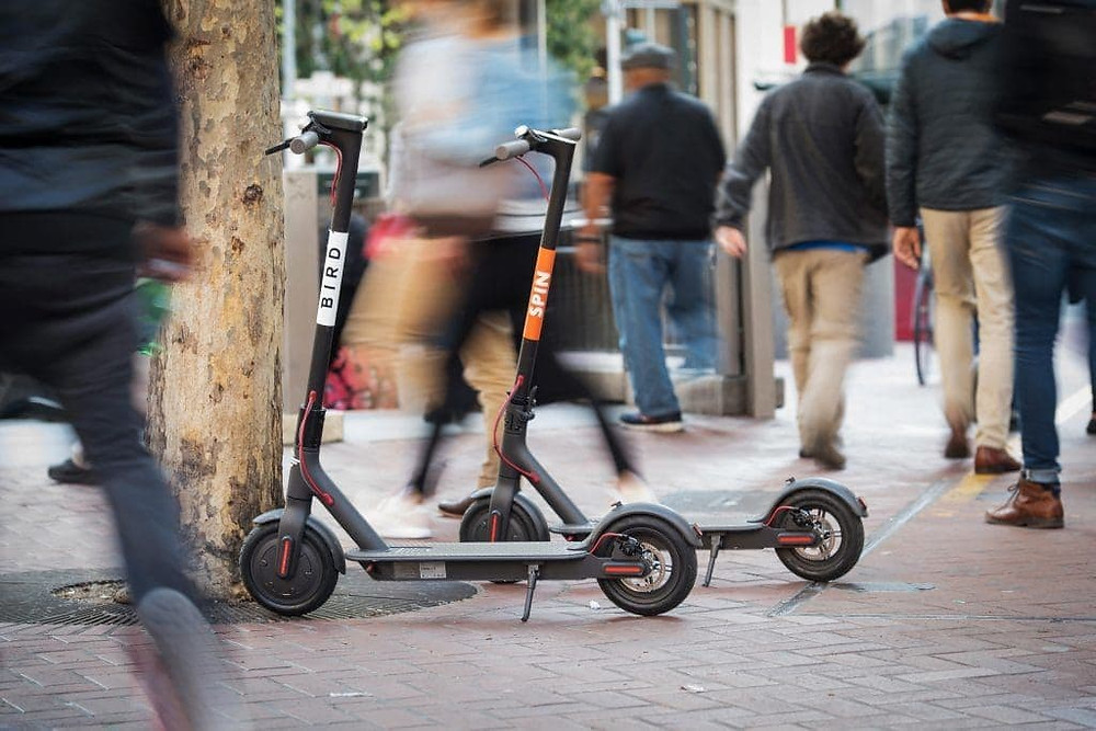 scooter sharing solução micro mobilidade