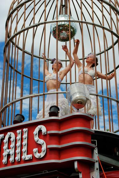 Ballet in the Bird Cage at Glastonbury