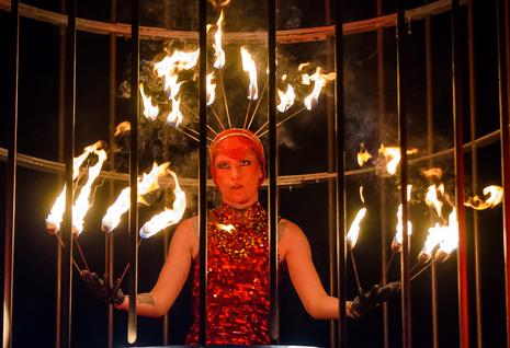 Phoenix Fire Performer