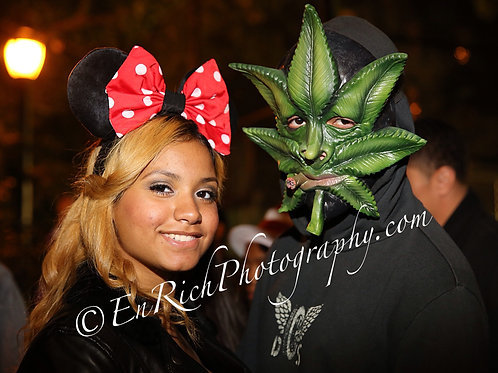 Minnie Mouse & Weedman