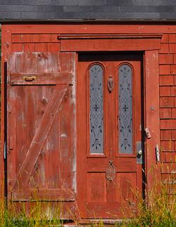 Red Door - Monhegan Island