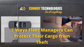 3 Ways Fleet Managers Can Protect Their Cargo from Theft