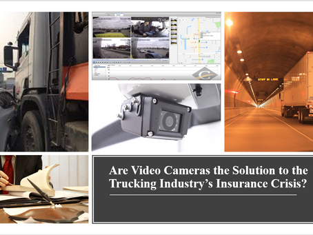 Are Video Cameras the Solution to the Trucking Industry's Insurance Crisis?