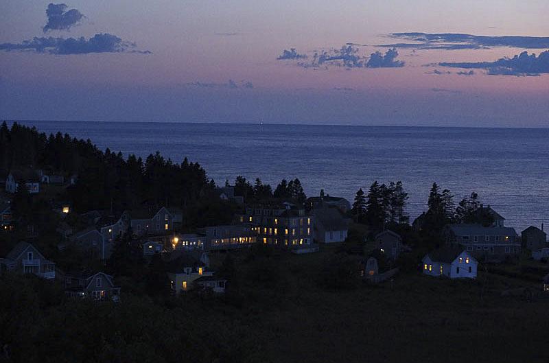 Peaceful Nightfall over Mohegan