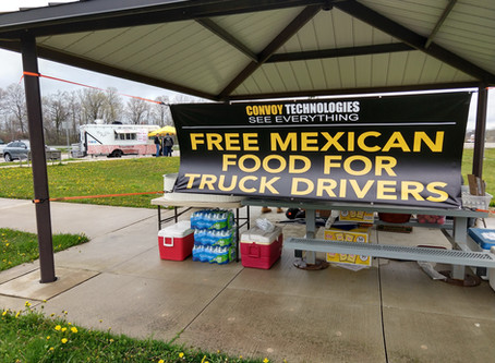 What We Learned from Offering Meals to 220 Truck Drivers during the Coronavirus Pandemic