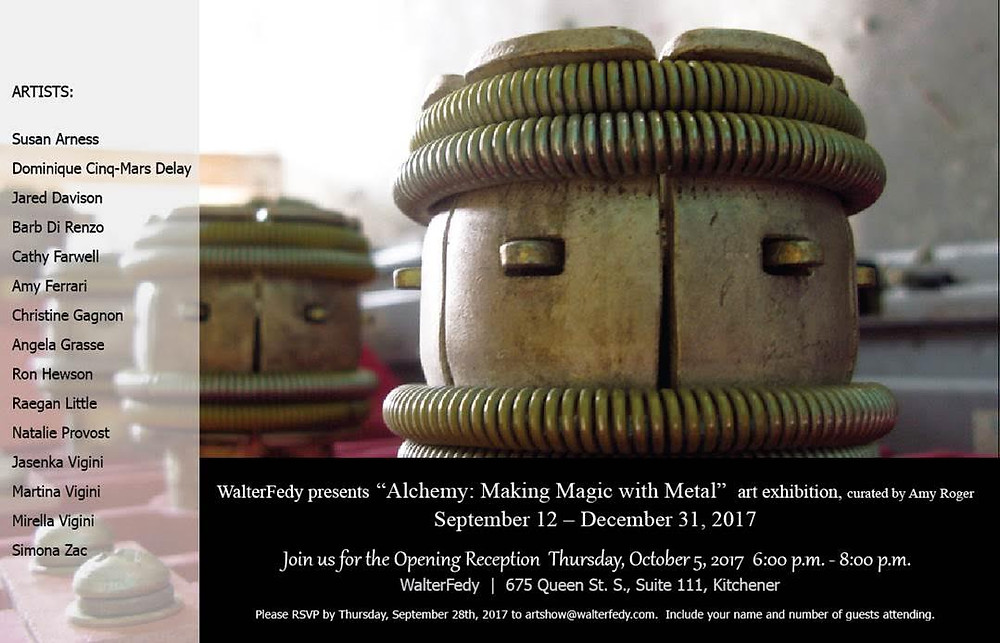 Come see us at Walter Fedy Opening October 5th