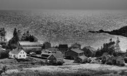 Monhegan Island - Black/White