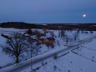Moonrise, Three Bridges Rd.