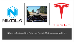Nikola Vs Tesla and the Future of Electric (Autonomous) Trucks