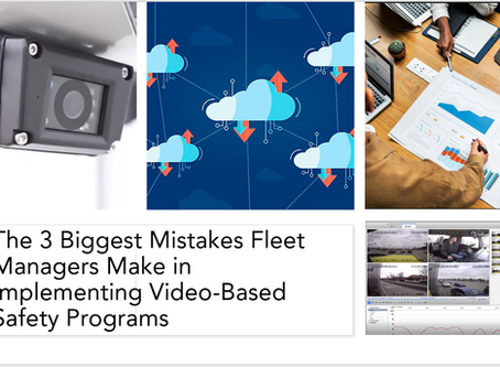 The 3 Biggest Mistakes Fleet Managers Make in Implementing Video-Based Safety Programs