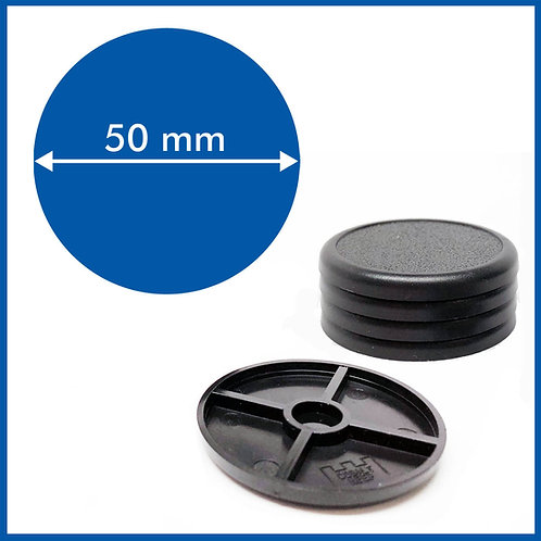 Round Lipped - 50mm Base - 5 Pack