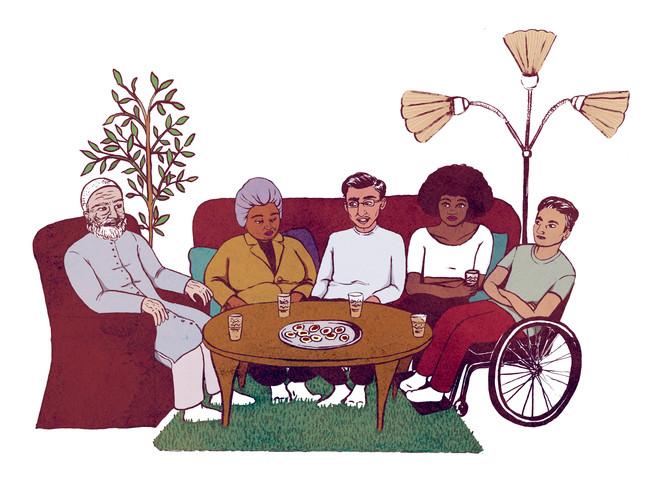 Illustration till Diaspora