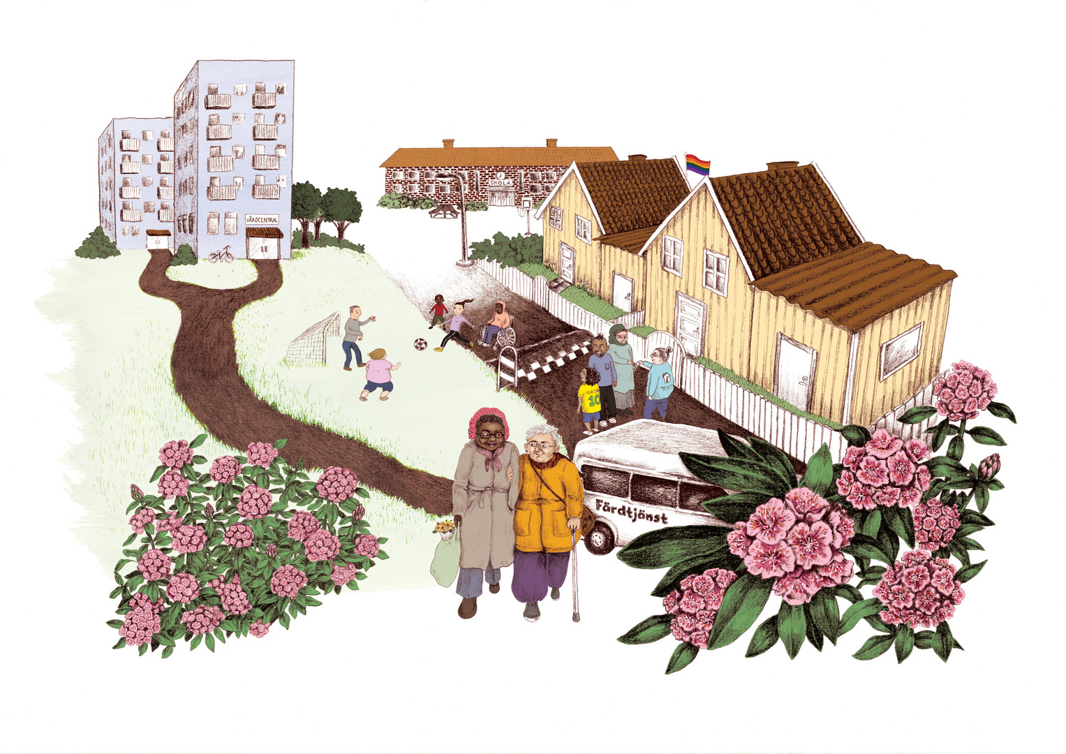 Illustration till Kronoberg region