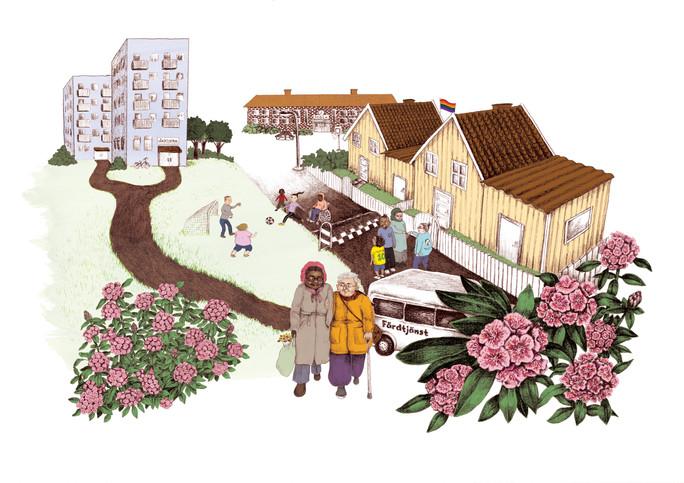 Illustration till Kronoberg region