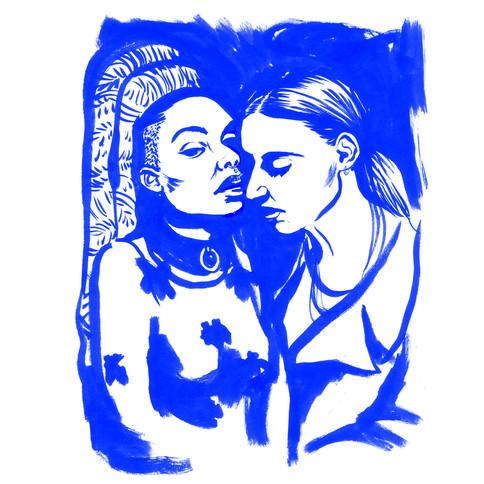 Porträtt av Beatrice Eli och Silvana Imam