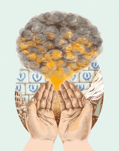 Illustration för Tidskriften Mana