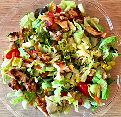 salad tip_ add lean protein and healthy fats to your salad to keep you satisfied and prevent that af