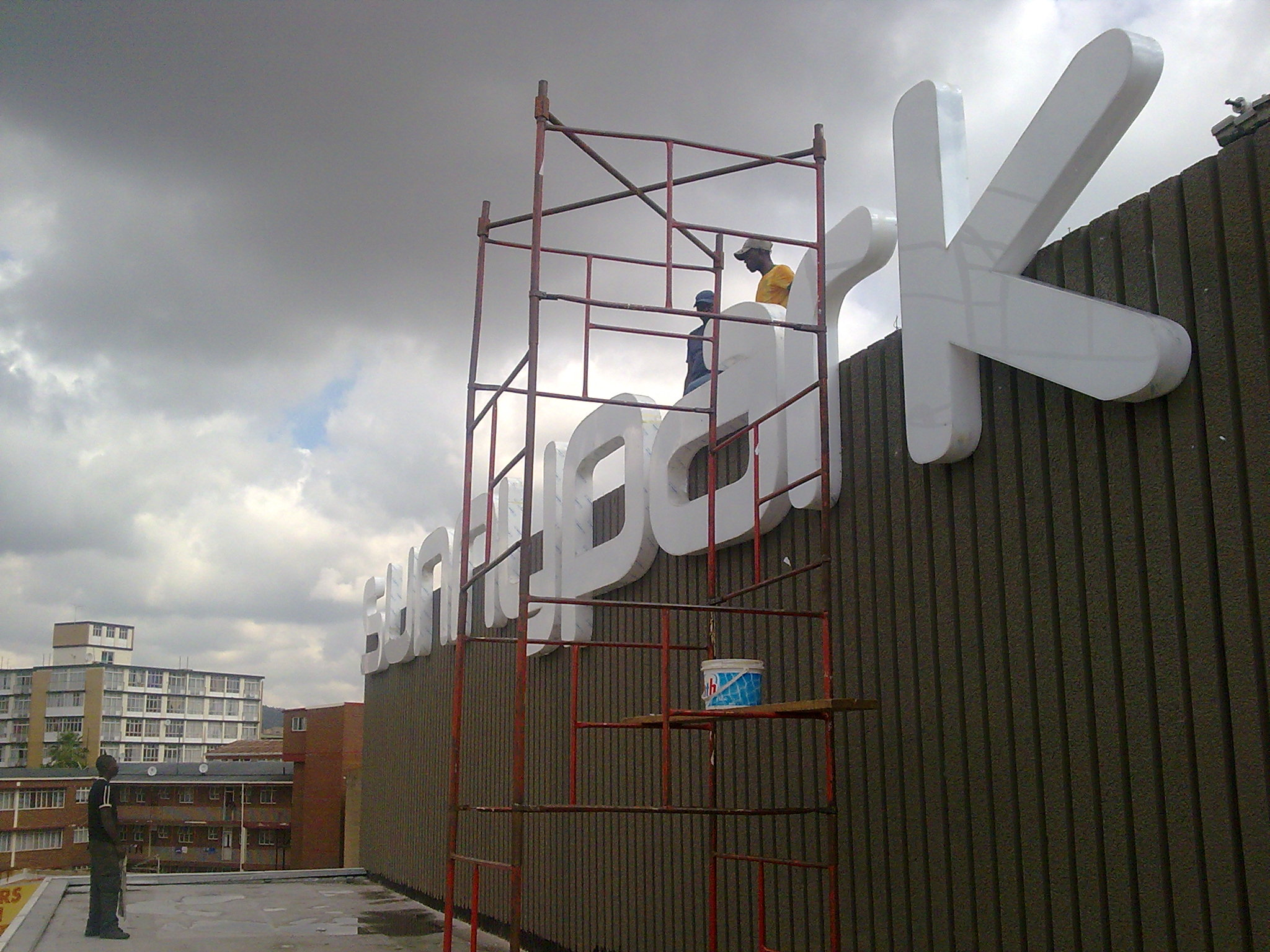 Sunnypark Channel Letter Installation