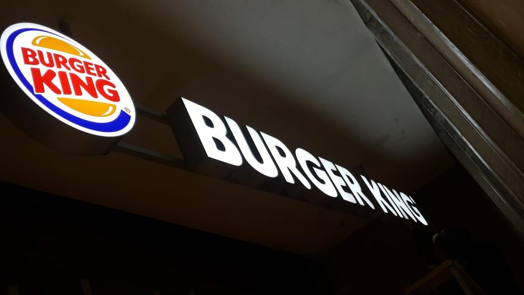 Burger King Custom Logo and Letter LED I