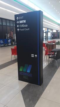 Acornhoek Mall Way-Finding Pylon4