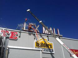 Alex Mall Channel Letter Site Installati