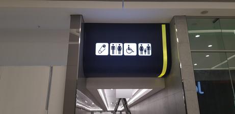 Mams Mall Way-Finding Box Sign