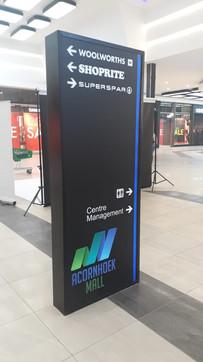 Acornhoek Mall Way-Finding Pylon3