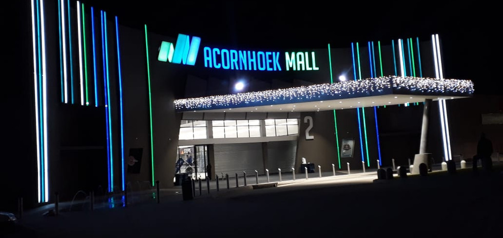 Acornhoek Mall Fin and Sign View