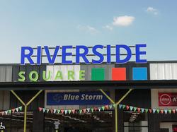 Riverside Square Channel Letter Face