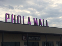 Phola Mall Channel Letters