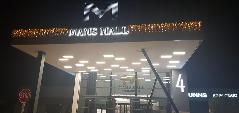 Mams Mall front LED Illumination