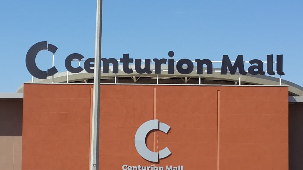 Centurion Mall Channel Letter Sign