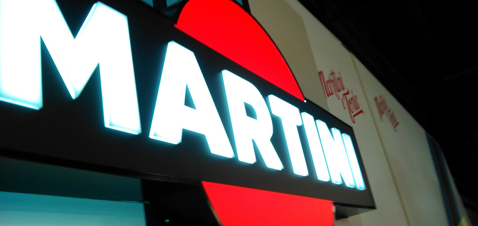 Martini Sign LED Illumination