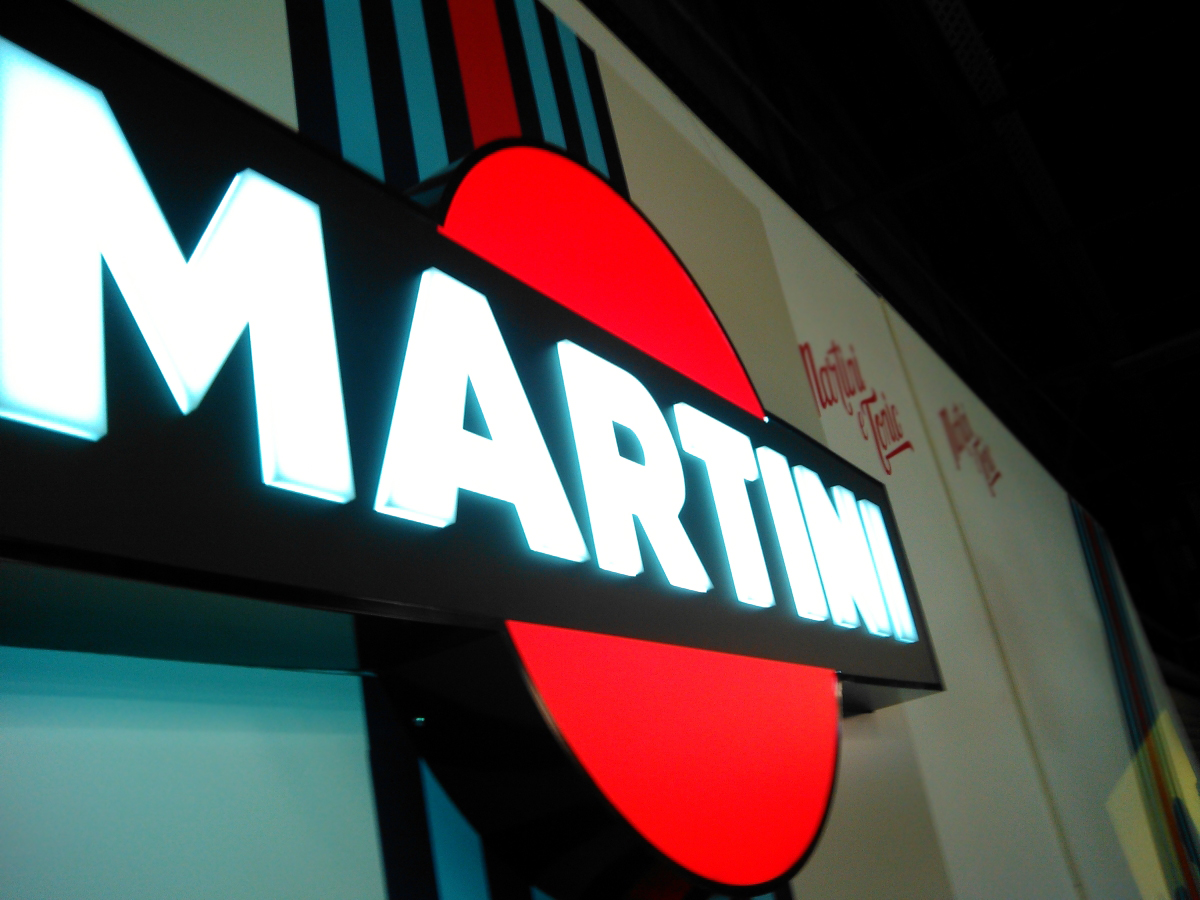 Martini LED sign