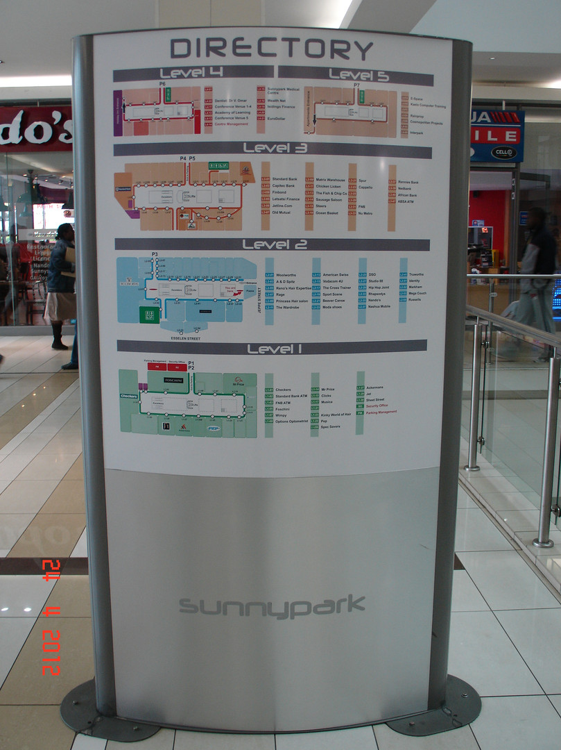 Sunnypark Way-Finding Pylon