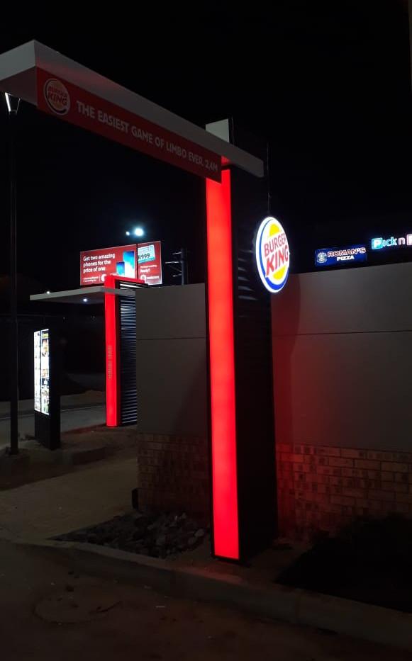 Burger King Drive Through LED Illuminati