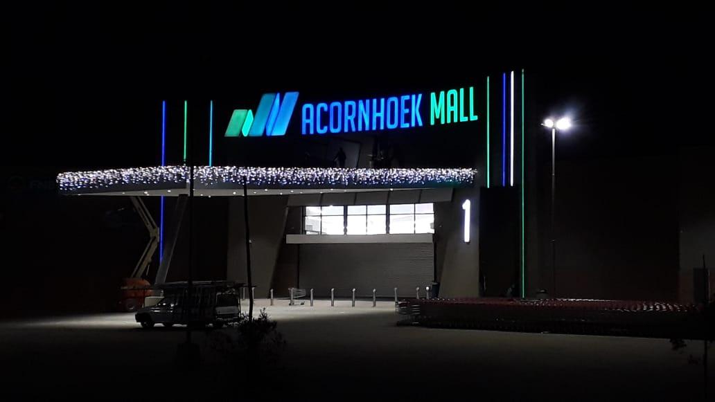 Acornhoek Mall Letters and Logo Illumina