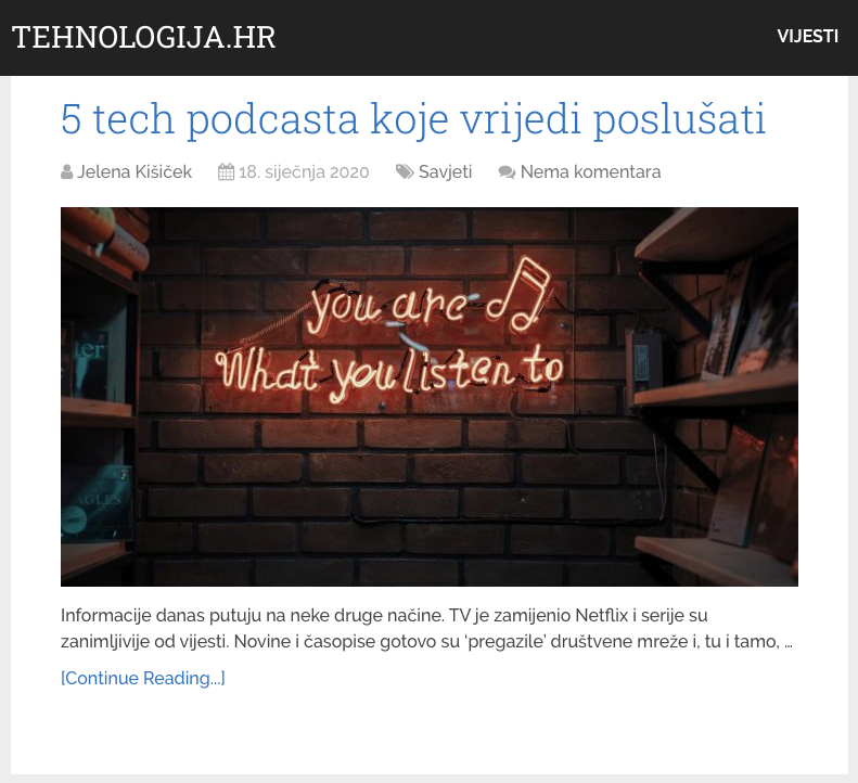 5 tech podcasta koje vrijedi poslušati