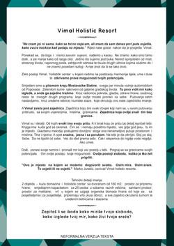 Neformalni tekst o predstavljanju