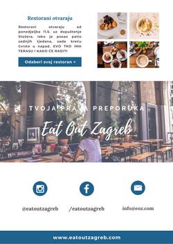 EatOutZagreb_Newsletter