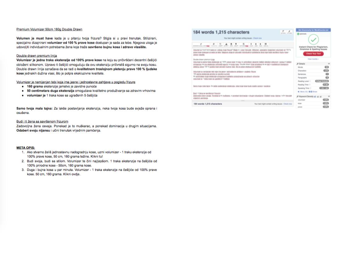 Ekstenzije.net - web tekst