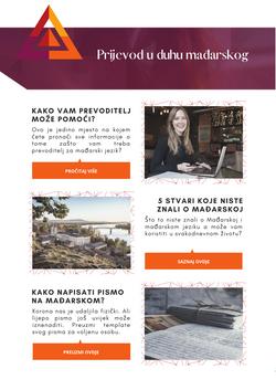 Newsletter prevoditeljske usluge