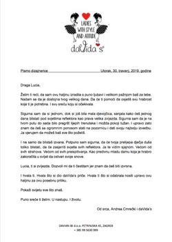daVida's pismo dizajnera