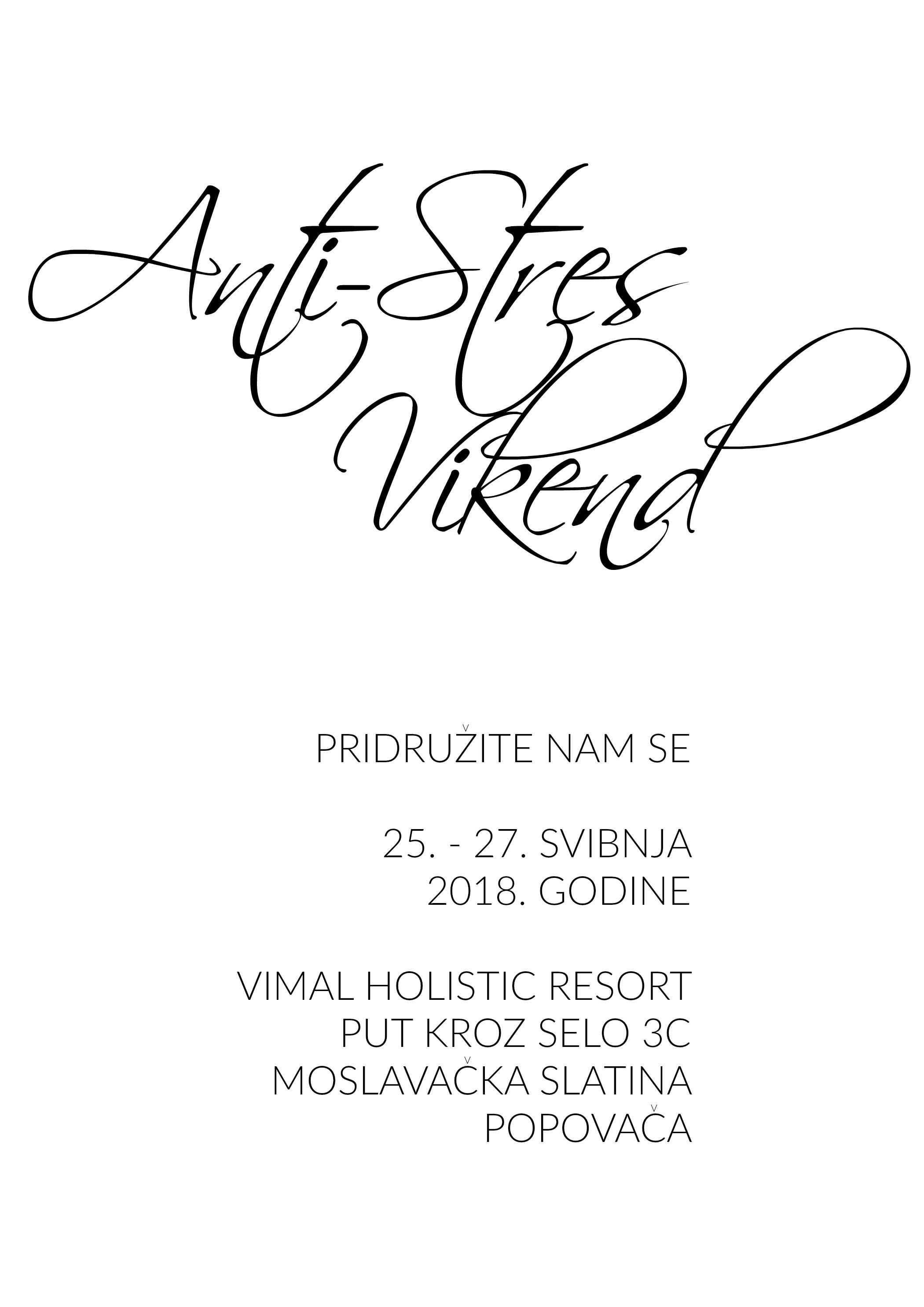 Vimal - pozivnica za event