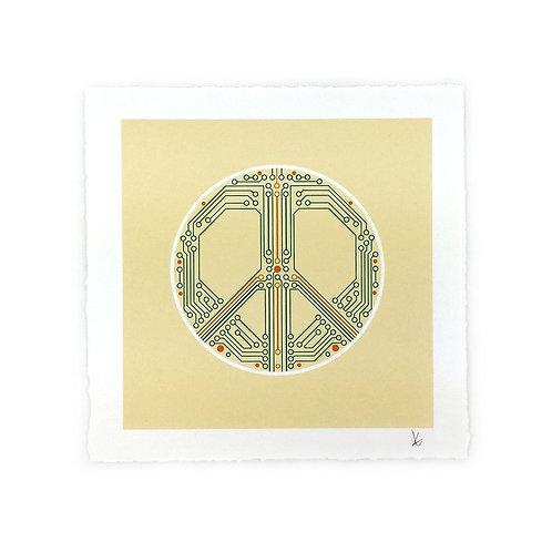 Smart Peace Art Print