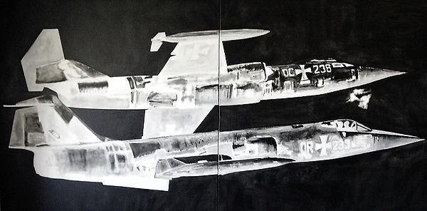 Michele Omiccioli - 1-Virata-acrilico-su
