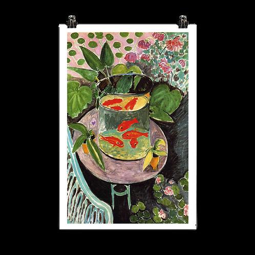 Henri Matisse, Goldfish, 1912 Artwork Poster
