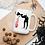 Thumbnail: Banksy Lovesick Girl Throwing Up Hearts Artwork Mug