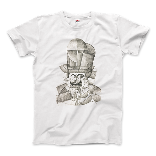 Juan Gris Man With Opera Hat 1912 Artwork T-Shirt